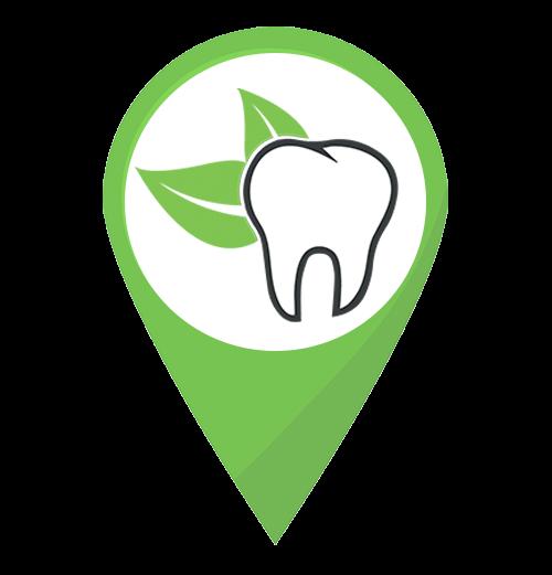 Стоматология Красивые зубки маркер на карте