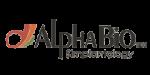 alpha bio logo